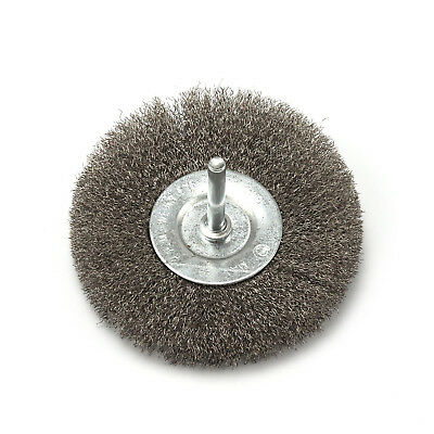 4 inches Crimped Stainless steel Wire Wheel Polishing Brushes