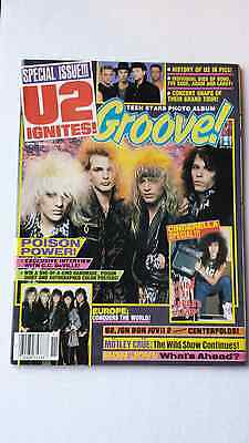 Poison Groove Magazine From November 1987
