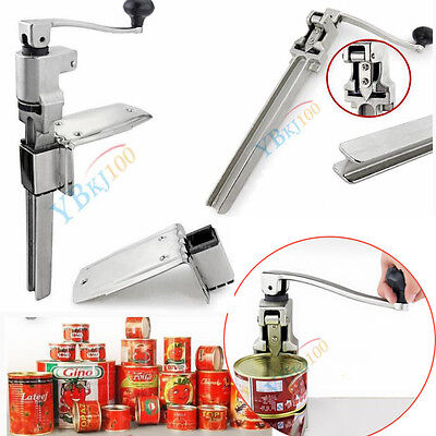 Commercial Catering Heavy Duty Bench Clamp Mount Large Rotation Can Tin Opener