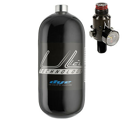 Dye UL Air Tank 1,2l ergo 300 bar HP inkl. NINJA Reg PaintNoMore Paintball Shop