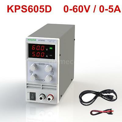 60V 5A Variable Adjustable Precision DC Power Supply 3 Digits Dual LED Dispaly