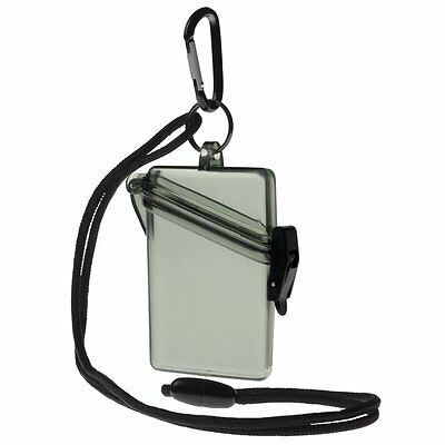 Witz Military Green Waterproof ID Badge Holder - See It Safe Dry Case - 00412