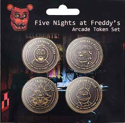 Character coin five nights at freddy chica freddy bunny