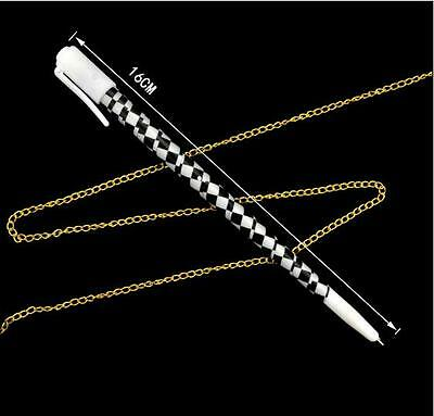 Pen to Necklace Comedy Kids Magic Tricks Party Games Necklace Appearing Props