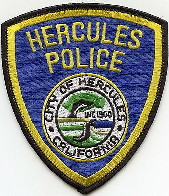 Hercules California Ca Police Patch