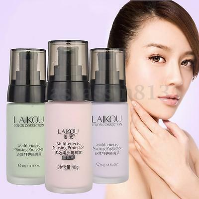 Moisture Foundation Primer Cream Liquid Smooth Concealer Face Cosmetic Beauty