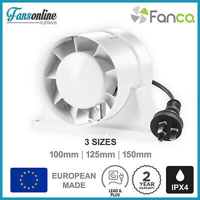 VKO Axial Inline Fan | Exhaust Fan | Fansonline Ventilation - 2YR WARRANTY