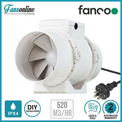 TT Mixflow Inline Fan 150mm | Exhaust Fan | Hydroponics | Bathroom Ventilation