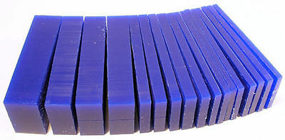 Wax Block Blue Slice - Assorted slice 1lb 456 grams used in casting jewellery
