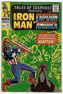 Tales of Suspense #82 (Marvel 1966 fn 6.0) Colan & Kirby art. Guide $21.00 (£14)