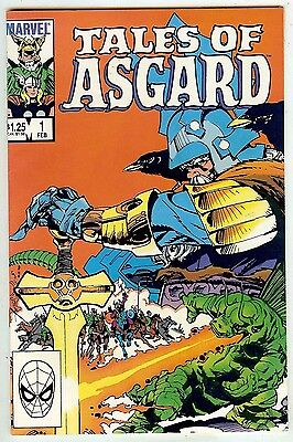 Tales of Asgard #1 (Marvel 1984 vf+ 8.5) Jack Kirby throughout - 48 page oneshot