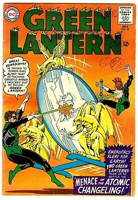 Green Lantern #38 (DC 1965; fn+ 6.5) guide value in this grade: $40.00 (£26.00)