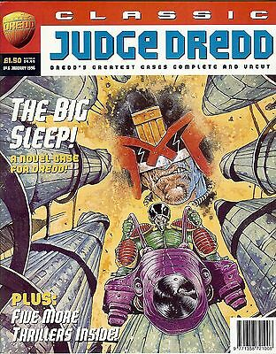 Classic Judge Dredd #6 (1996) collects JD strips from progs 464-471