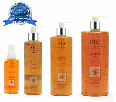 SBC Arnica Skincare Gel CHOOSE SIZE Official Authorised SBC seller