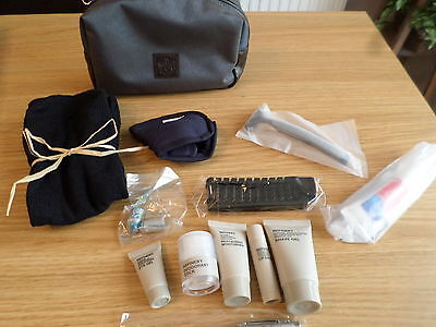 British Airways First Class Mens Refinery Amenity Kit Unused Free Post