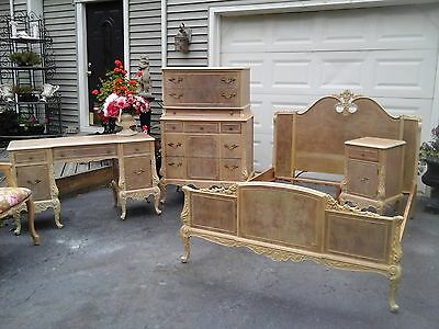 vintage french bedroom set