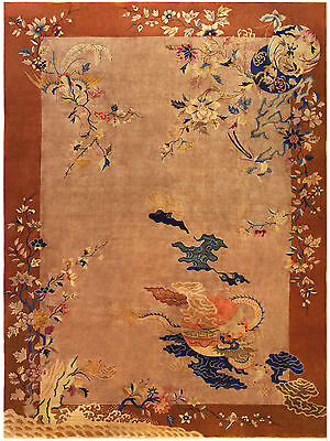 Framed Print - Antique Decorative Chinese Artwork (Asian Oriental Picture Art)