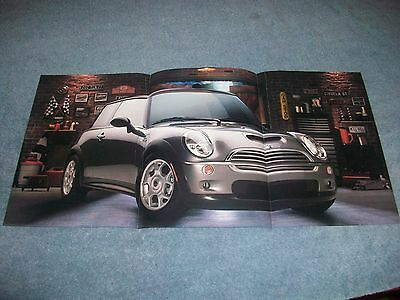 2002 Mini Cooper S Fold Out Ad Centerfold