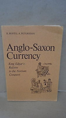 Anglo-Saxon Currency King Edgars Reform To The Norman Conquest By Petersson