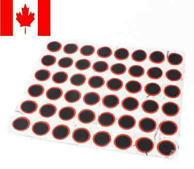 48pcs 25mm JT90 Round Bicycle Rubber Patch Bike Tire Tyre Puncture Repair Piece