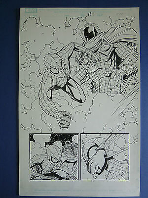 Marvel Adventures: Spider-man #10 pg 18, Feb.'06 Original Art by Norton/Glapion