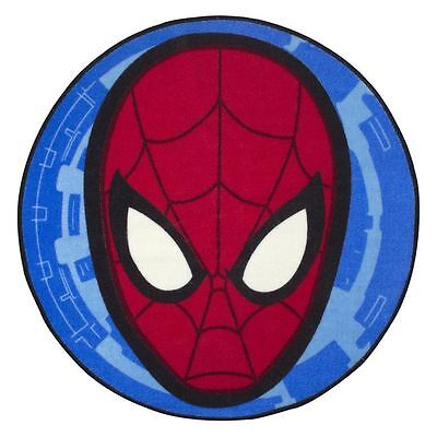 Spiderman Ultimate City Shaped Rug Red Kids Bedroom Decor New Free P+P