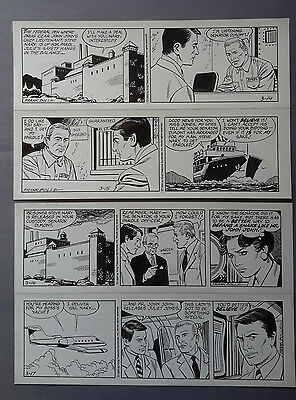 Heart of Juliet Jones Daily strip 03-11-94 to 03-17-94 Original art Frank Bolle