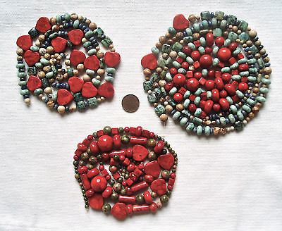 STONE HIGH QUALITY BEADS CLEARANCE original beads 500+ CORAL, AGATE AND MORE