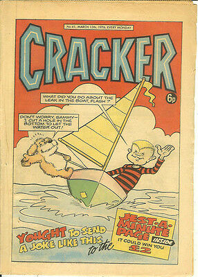 Cracker 61 (March 13 1976) mid-grade copy, some browning