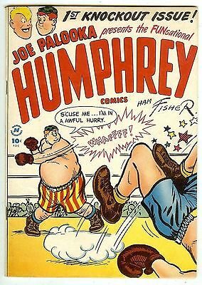 Joe Palooka presents HUMPHREY #1 (Harvey 1948; vf 8.0) guide value: $80.00 (£53)