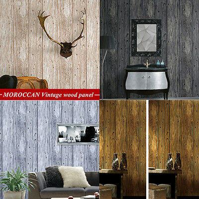4 Pcs Wood Panel Wallpaper Sample Natural Wood Timber Project Wallpaper