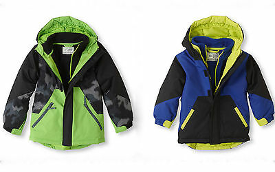 The Children's Place Toddler Boys 3-IN-1 ARCTIC COLD Ski Jacket Outerwear NWT