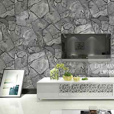 Marble Mosaic Stone Slate Grey Realistic Impressions Project Wallpaper Sample