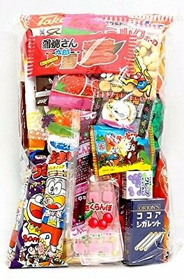 "NEW Assorted Japanese Junk Food Snack ""Dagashi"" Economical 34 Packs of 27 Types"