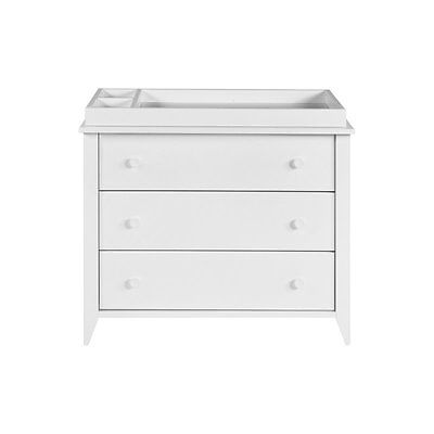 Babyletto Sprout 3 Drawer Changer Dresser in White