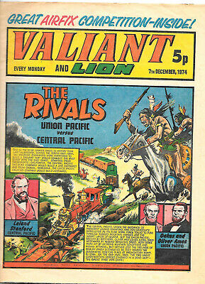 Valiant 28th Sept 1974 (another high grade copy) Adam Eterno, Robot Archie