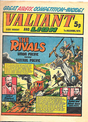 Valiant 7th Dec 1974 (high grade copy) Adam Eterno, Robot Archie