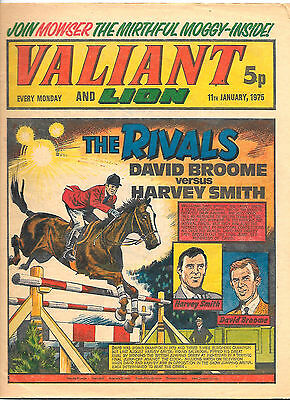 Valiant 11th Jan 1975 (high grade copy) Adam Eterno, Kid Pharoah