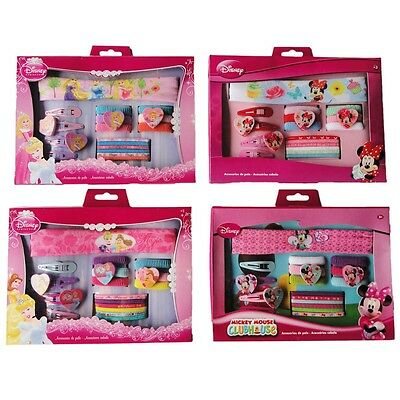 ♥DISNEY KINDER HAARSET MINNIE MOUSE & PRINCESS 17 tlg♥NEU ♥