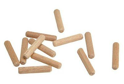 """Wolfcraft 2962405 5/16"""" Fluted Wood Dowel Pins - 33 Pieces"""