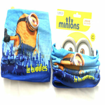 Minion Scarf Snood Face Mask Ski Mask Despicable Me Le Buddies Minions Free P&P