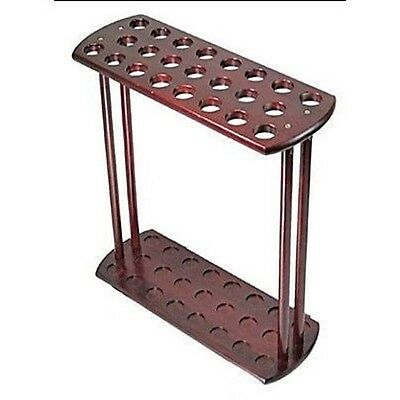 Home Wooden Storage Rack for Walking Canes Sticks Golf Clubs Display
