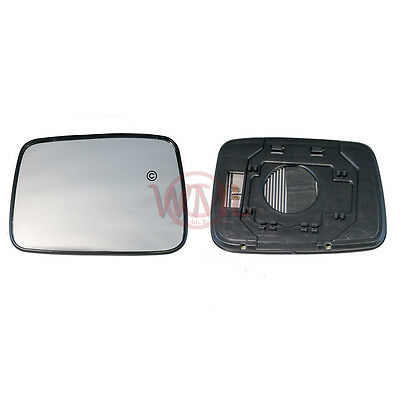 Nissan X Trail 2001 2007 Door/wing Mirror Glass Silver Convex, Heated &base,left