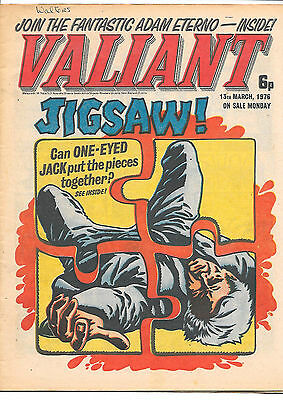 Valiant 13th Mar 1976 (very high grade) One-Eyed Jack, Death Wish, Soldier Sharp