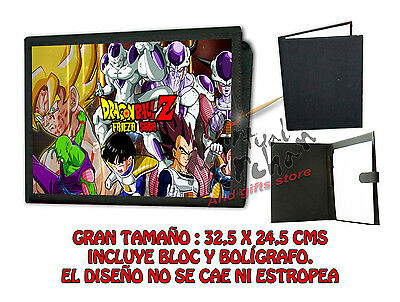 CARPETA FRIEZA DRAGON BALL FREEZER LONETA NEGRA FOLDER bloc es