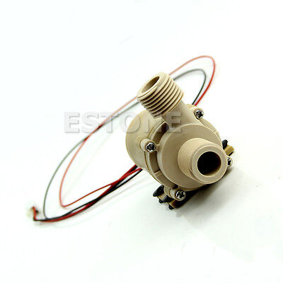 DC 12V/24V Solar Hot Water Circulation Pump Brushless Motor Water Pump 5M 3M GRT