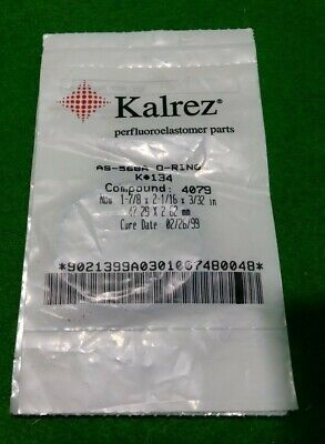 Kalrez AS-568A, K# 134 O-Ring Compound 4079UP, NEW
