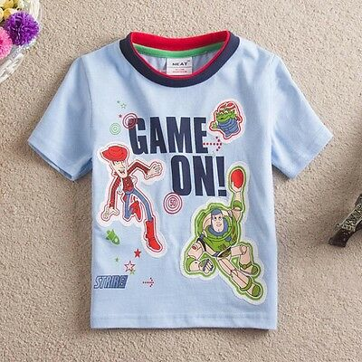 Toy Story, Boys T-Shirt, Cotton, Sizes 2 - 6