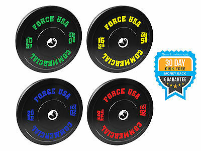 Brand New Force Usa Ultimate Training Bumper Plate - 20Kg