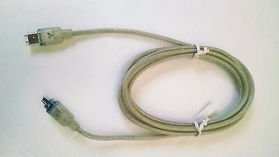 NEW GENUINE 2M Apple Ice FireWire Cable 4Pin-6Pin 590-2286 - OEM